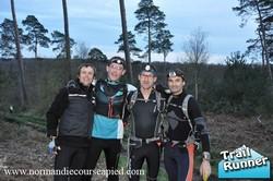 De gauche à droite :: Yves, Bibi, Benoit et Vlad