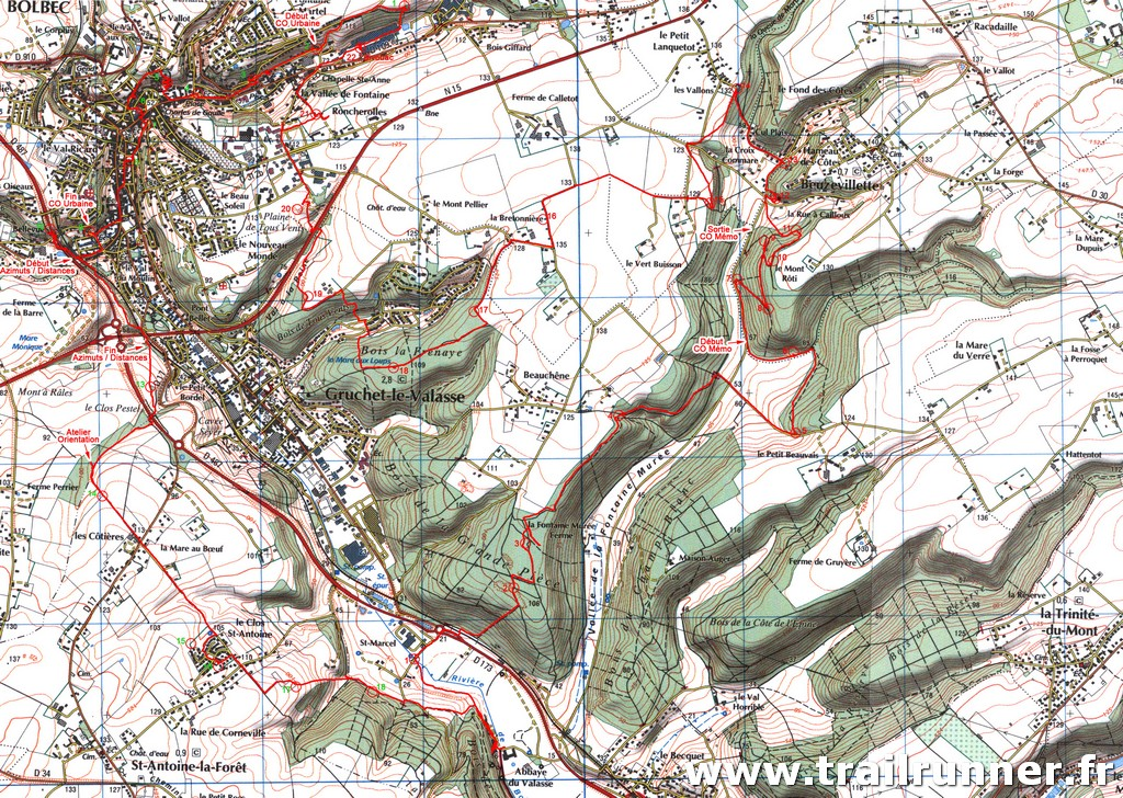 Gruchet Trail Orientation 2012