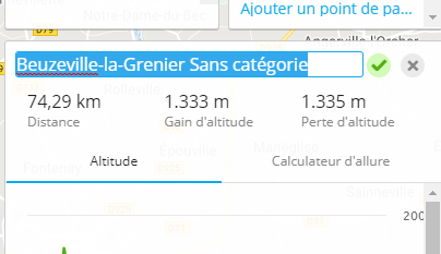 Import d'un fichier GPX sur une montre GPS Garmin