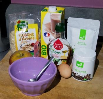 Bowl Cake Pomme thé Matcha Nu3