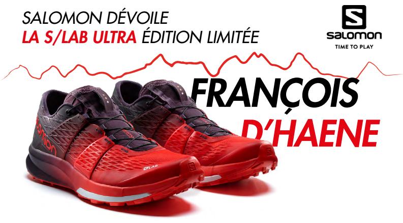 Salomon dévoile la SLab Ultra Limited François d'Haene